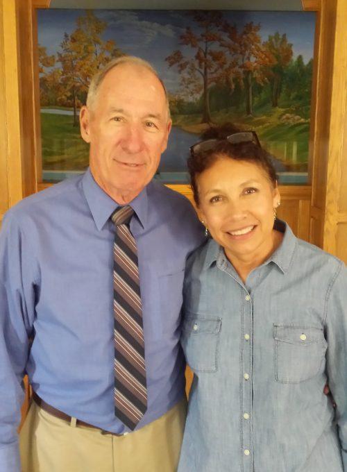 Pastor, Eldon Wilson & his wife Vicki Cox-Wilson