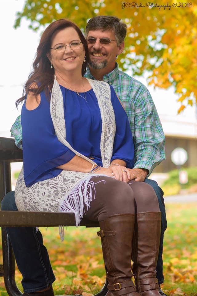 Celena Bray & her husband Cy Bray
